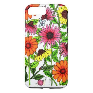 Wilde Blumen iPhone 8 Plus/7 Plus Hülle
