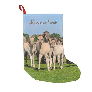 Wilde Herde Grullo färbte Dulmen Kleiner Weihnachtsstrumpf