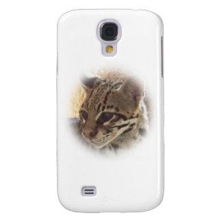 Wilde Katze Galaxy S4 Hülle