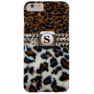 Wilde Leopard-Pelz iPhone 6 Plusfall Barely There iPhone 6 Plus Hülle