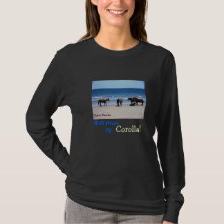 Wilde Pferde der äußeren Banken T-Shirt