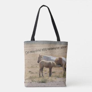Wilde Pferdepflege Tasche