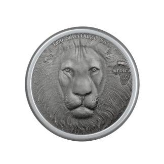 WILDE SACHEN: Afrikanischer Löwe Münze-Bumpster Lautsprecher