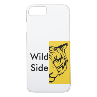Wilde Seite - Tiger iPhone 7 Hülle