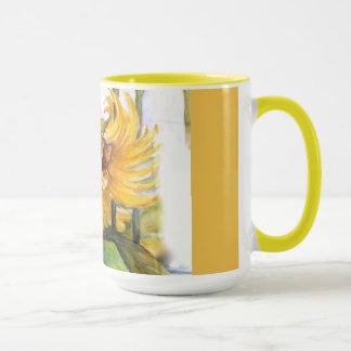 Wilde Sonnenblume Tasse