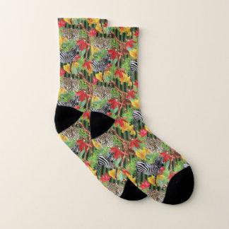 Wilde Tiere von Afrika Socken