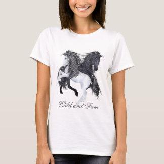 Wilde und freie Pferde T-Shirt