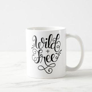 Wilde und freie Tasse