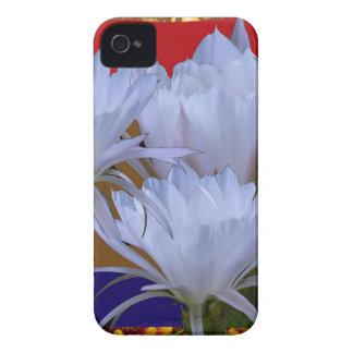 Wilde weiße Lilly Blume:  Fantastische Welt der iPhone 4 Hüllen