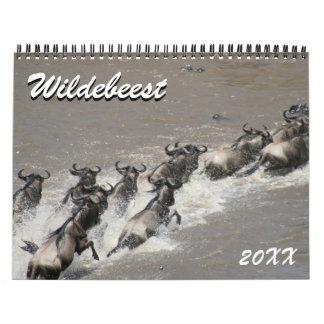 Wildebeest 2018 kalender