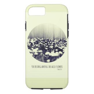 Wilder Blume iPhone Fall iPhone 8/7 Hülle