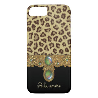 Wilder Eleganz-Leopard iPhone 7 Hülle