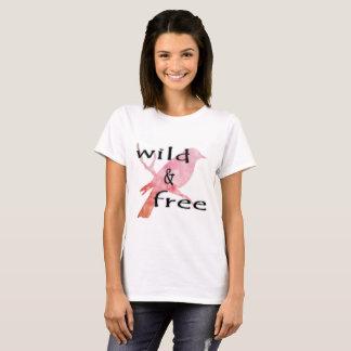 Wilder u. freier T - Shirt