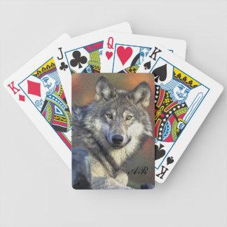 Wilder Wolf Bicycle Spielkarten