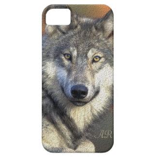 Wilder Wolf Etui Fürs iPhone 5
