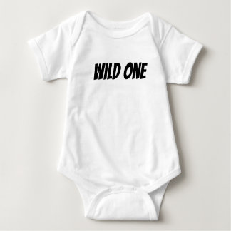 Wildes Baby-Shirt Baby Strampler