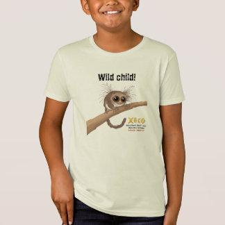 Wildes Kind - Haarig-ohriger zwergartiger Lemur T-Shirt