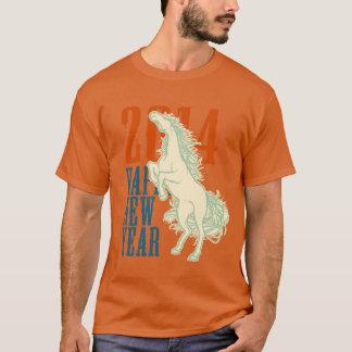 Wildes Pferd (2014 neues Jahr) T-Shirt