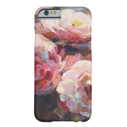 Wildes Rosa-Rosen Barely There iPhone 6 Hülle