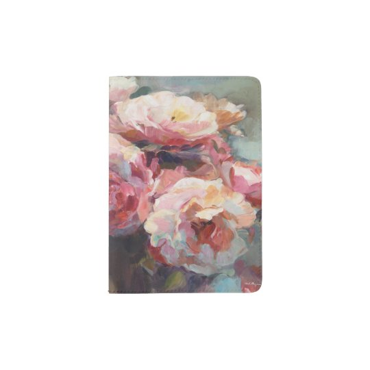 Wildes Rosa-Rosen Passhülle