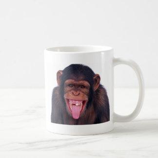 wildes Tier des unverschämten Kaffeetasse