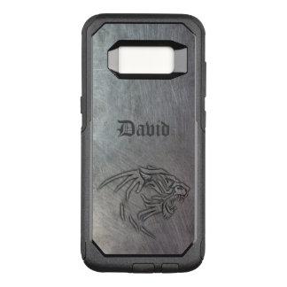 Wildes Tier-Metall Stammes- OtterBox Commuter Samsung Galaxy S8 Hülle