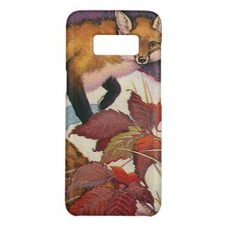 Wildes Tier Vintage Waldgeschöpferotes Fox Case-Mate Samsung Galaxy S8 Hülle