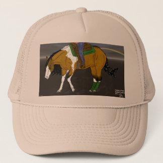 Wildleder-lenkendes Pferd Truckerkappe