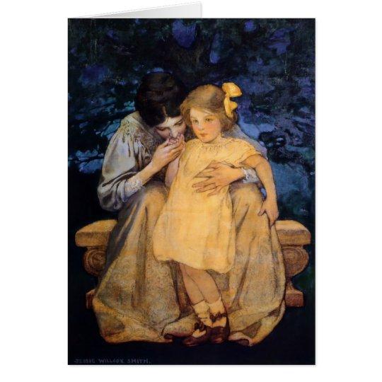 """Willcoxs der Tag """"der Mutter-und Kinder"""" Mutter Grußkarte"""