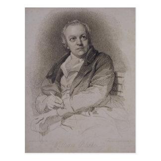 William Blake (1757-1827) graviert von Luigi Postkarte