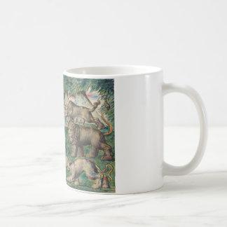 William Blake - Dante, der von den drei Tieren Kaffeetasse
