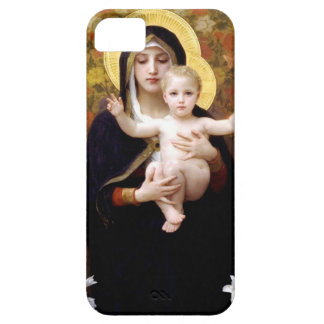 William Bouguereau- Madonna des lis Coque iPhone 5 Case-Mate