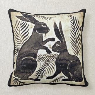 William De Morgan Rabbits Kissen
