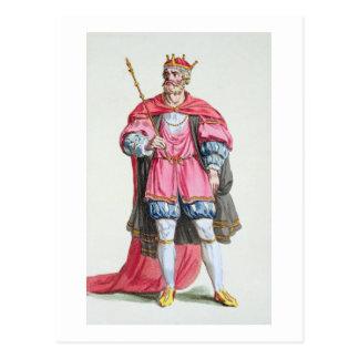 William der Eroberer (1027-87), von 'Receuil DES Postkarte