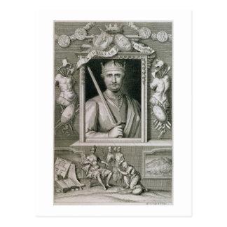William I der Eroberer-(1027-87) König von England Postkarte