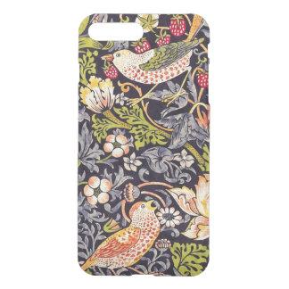 William Morris-Erdbeerdieb-Blumenkunst Nouveau iPhone 8 Plus/7 Plus Hülle