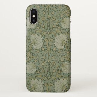 William Morris Pimpernel-Vintages Muster GalleryHD iPhone X Hülle
