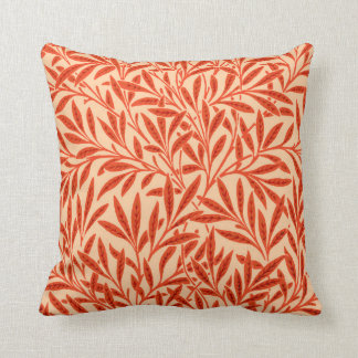William Morris-Weide-Muster, Mandarine Kissen