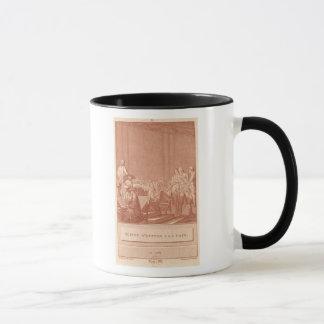 William Pitt das Älteste, das dem Frieden Tasse