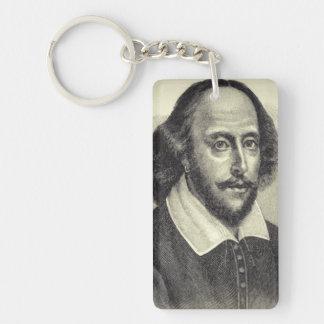William Shakespeare-Acryl Keychain Schlüsselanhänger