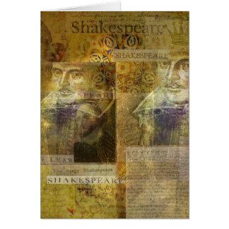 WILLIAM SHAKESPEARE-Kunst Karte