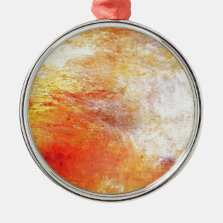 William Turner Sun, der über eine See-Romantik Silbernes Ornament