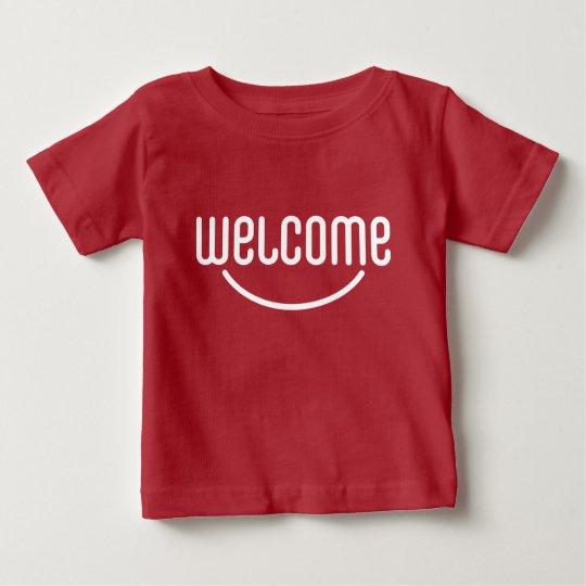 Willkommen Baby T-shirt