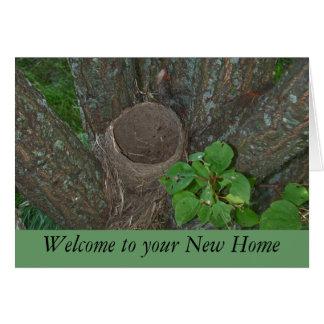 Willkommen zu Ihrem neuen Zuhause Grußkarte