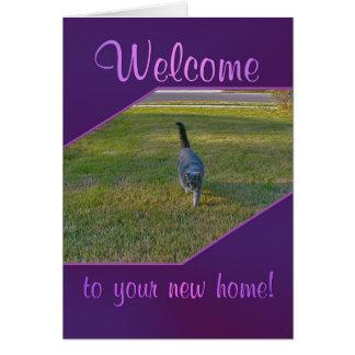 Willkommen zu Ihrem neuen Zuhause Karte