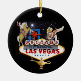 Willkommen zu Las Vegas - Las Keramik Ornament