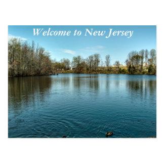 Willkommen zu NJ Postkarte