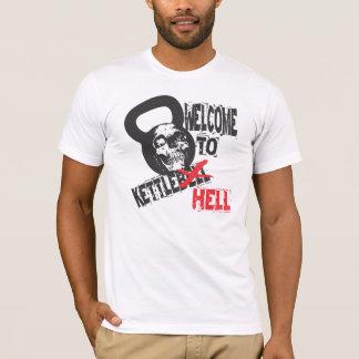 Willkommen zum Kettlebell Höllent-shirt T-Shirt