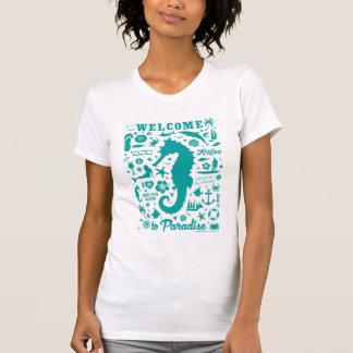 Willkommen zum Paradies T-Shirt