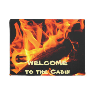 Willkommen zur Kabinen-Klotz-Feuer-Fußmatte Türmatte